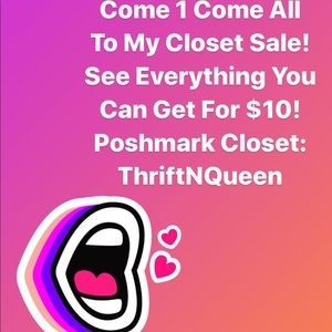 Come in and see what you can get for $10